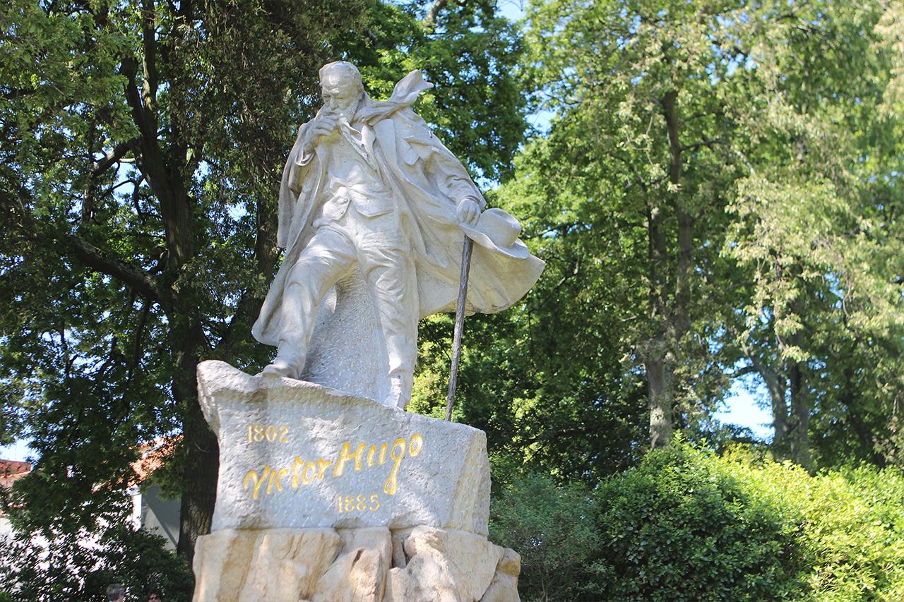Guernsey Candie Gardens Victor Hugo